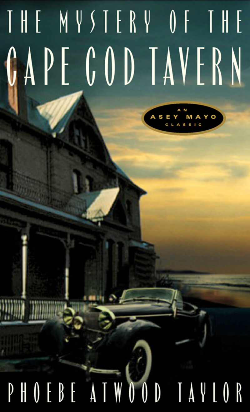 Book cover for The Mystery of the Cape Cod Tavern by Phoebe Atwood Taylor