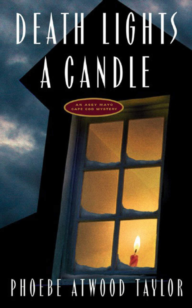 Book cover for Death Lights a Candle by Phoebe Atwood Taylor