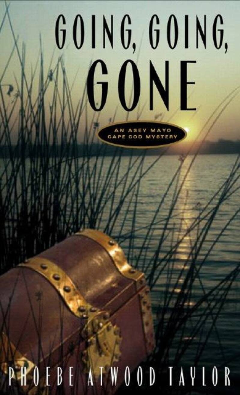 Book cover for Going, Going, Gone by Phoebe Atwood Taylor