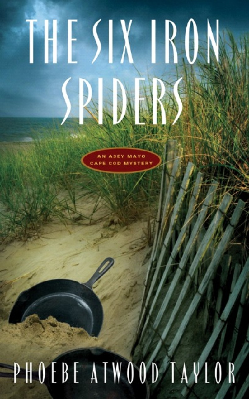 Book cover for The Six Iron Spiders by Phoebe Atwood Taylor