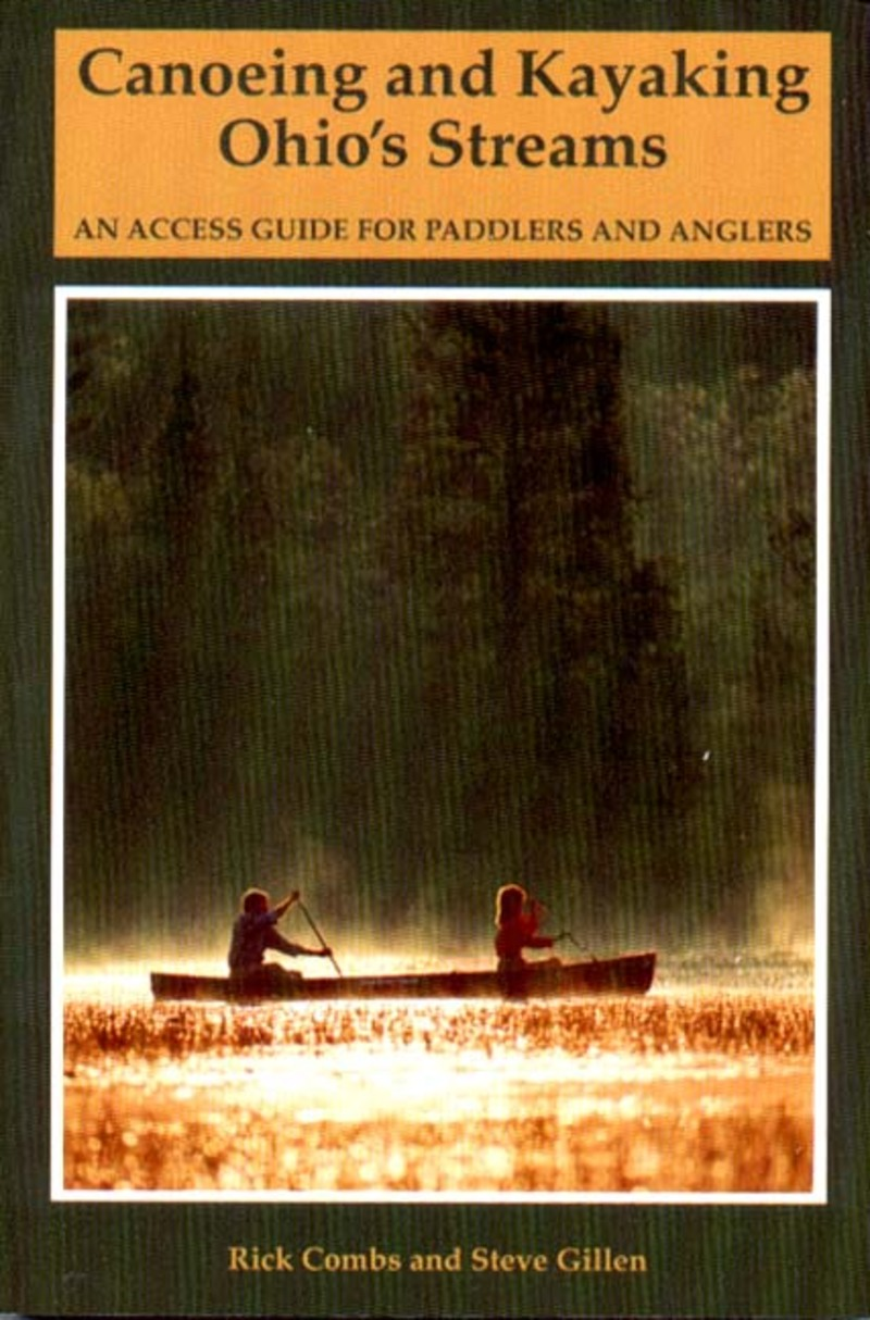 Book cover for Canoeing and Kayaking Ohio's Streams by Richard Combs