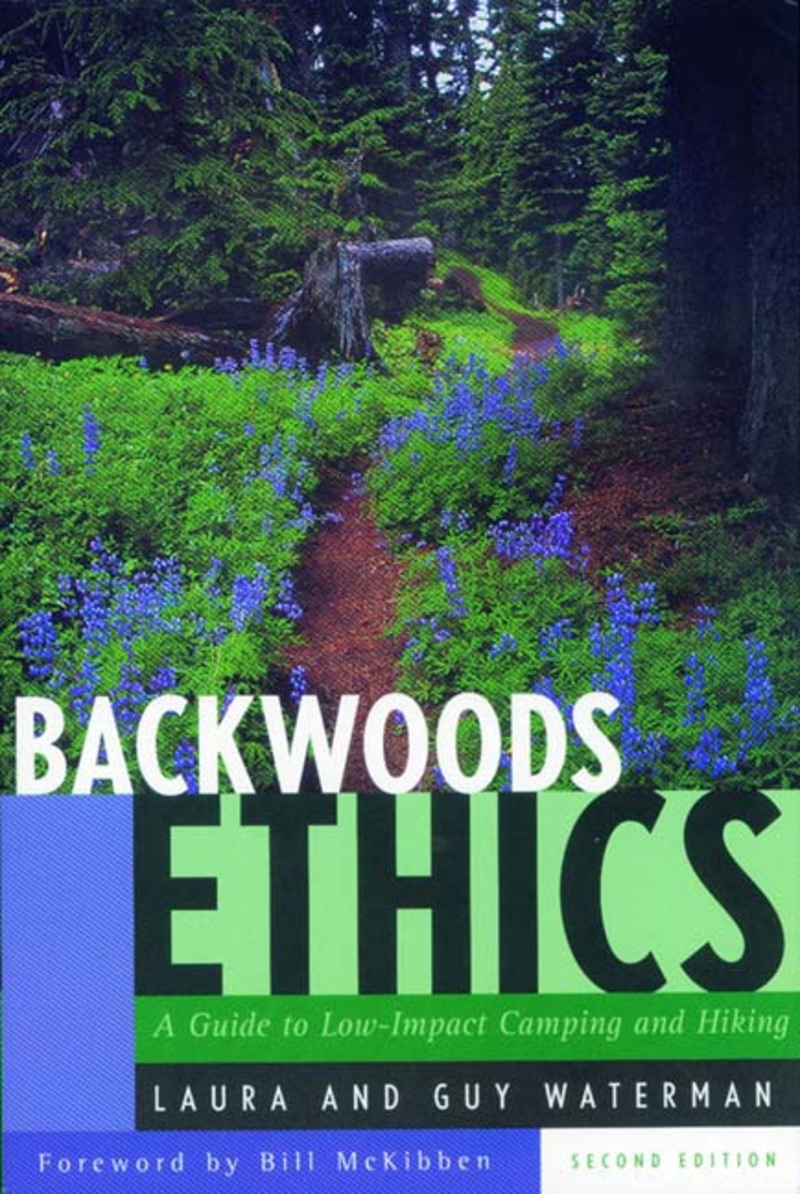 Book cover for Backwoods Ethics by Guy Waterman