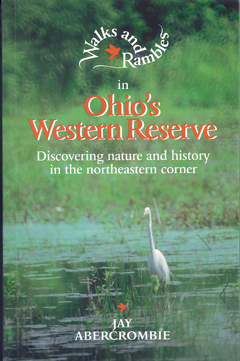 Book cover for Walks and Rambles in Ohio's Western Reserve by Jay Abercrombie