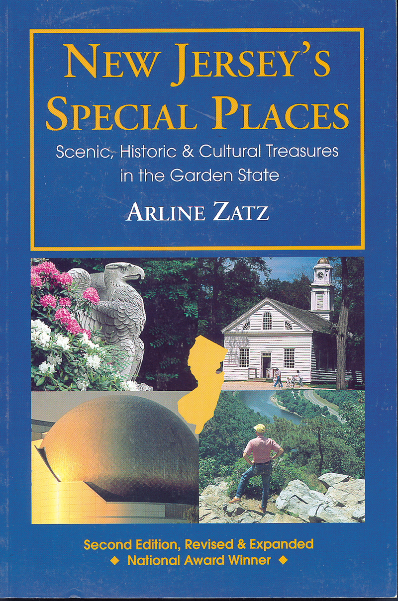 Book cover for New Jersey's Special Places by Arline Zatz