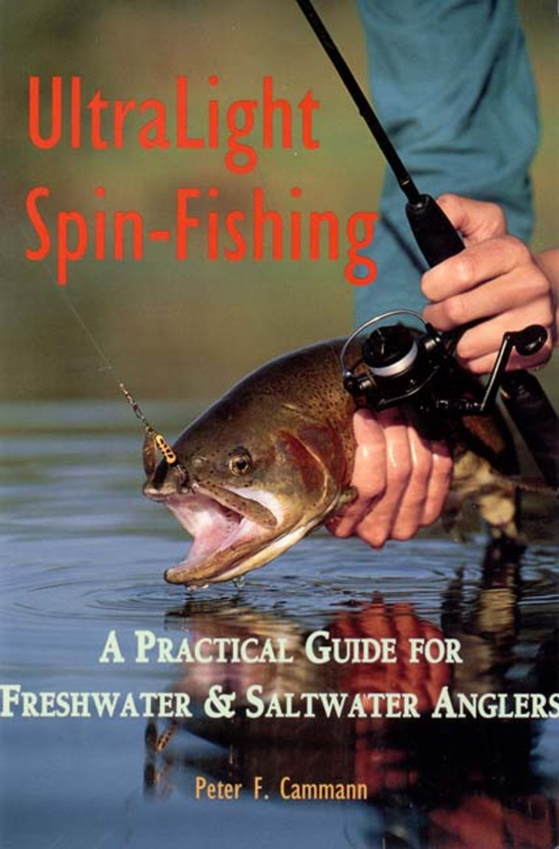 Book cover for Ultralight Spin-Fishing by Peter F. Cammann