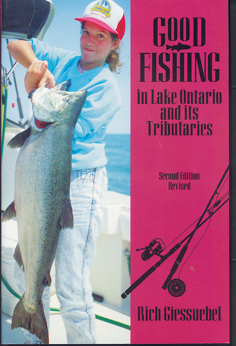 Book cover for Good Fishing in Lake Ontario and its Tributaries by Rich Giessuebel