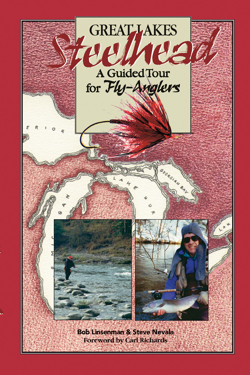 Book cover for Great Lakes Steelhead by Bob Linsenman
