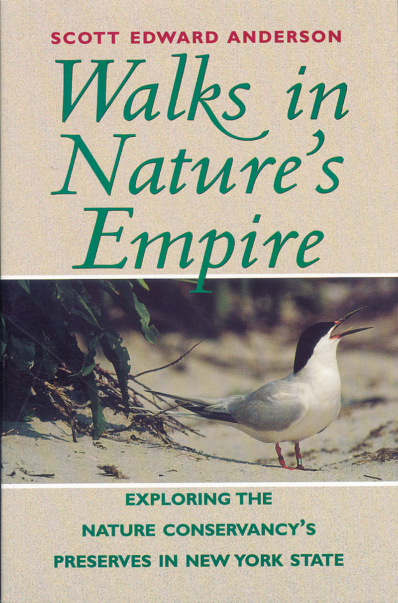 Book cover for Walks in Nature's Empire by Scott E. Anderson