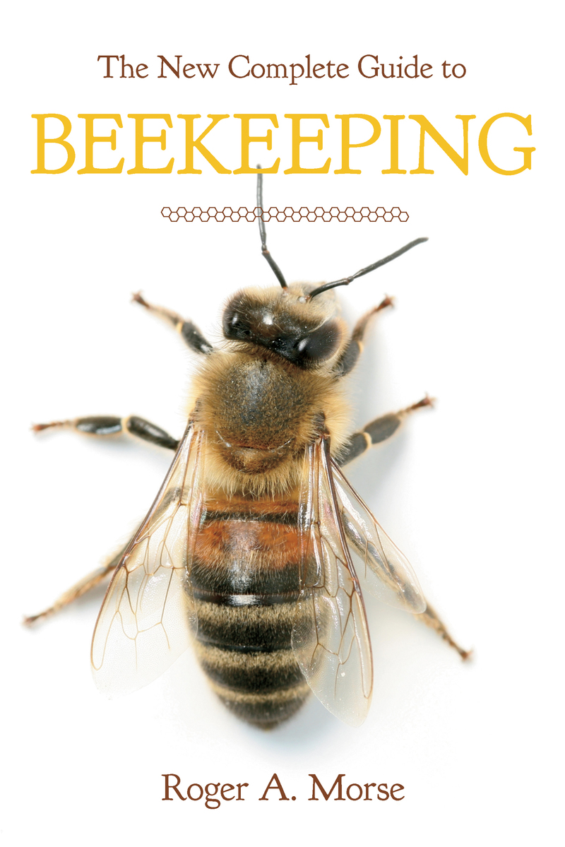 Book cover for The New Complete Guide to Beekeeping by Roger A. Morse