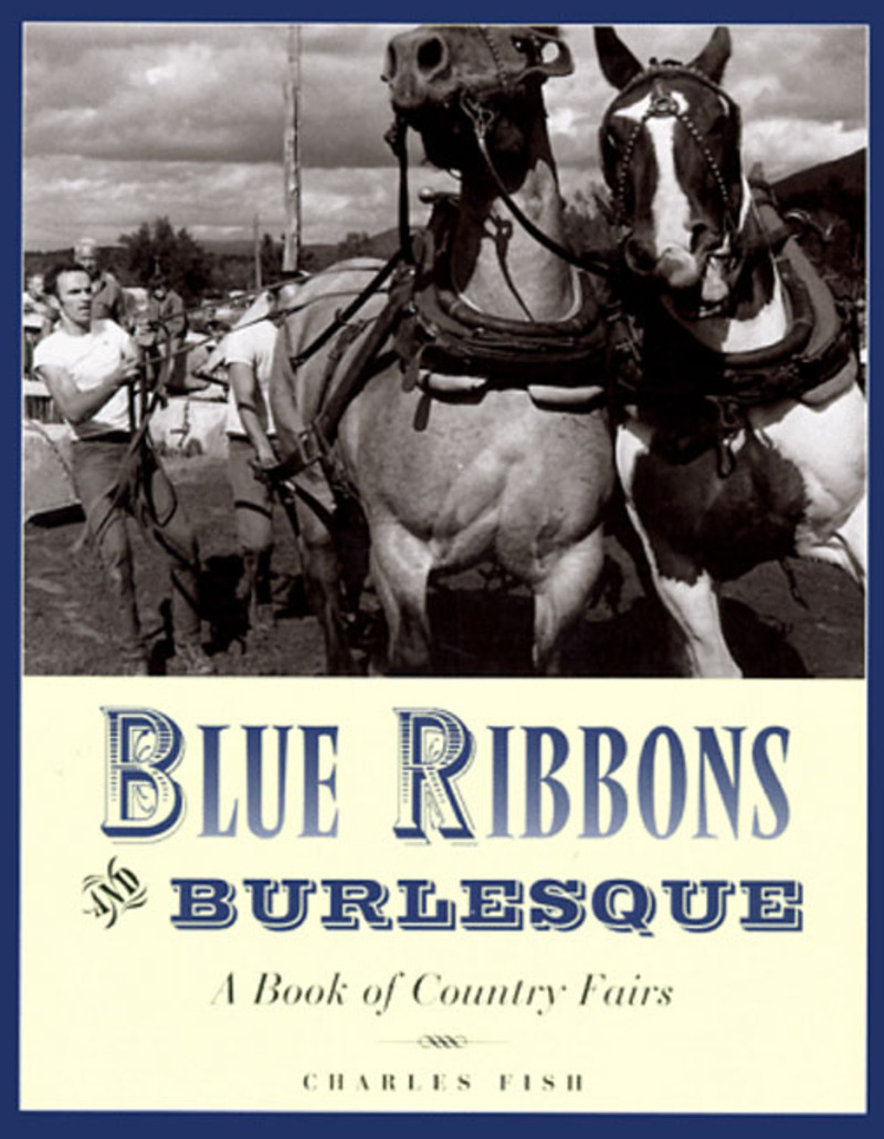 Book cover for Blue Ribbons and Burlesque by Charles Fish