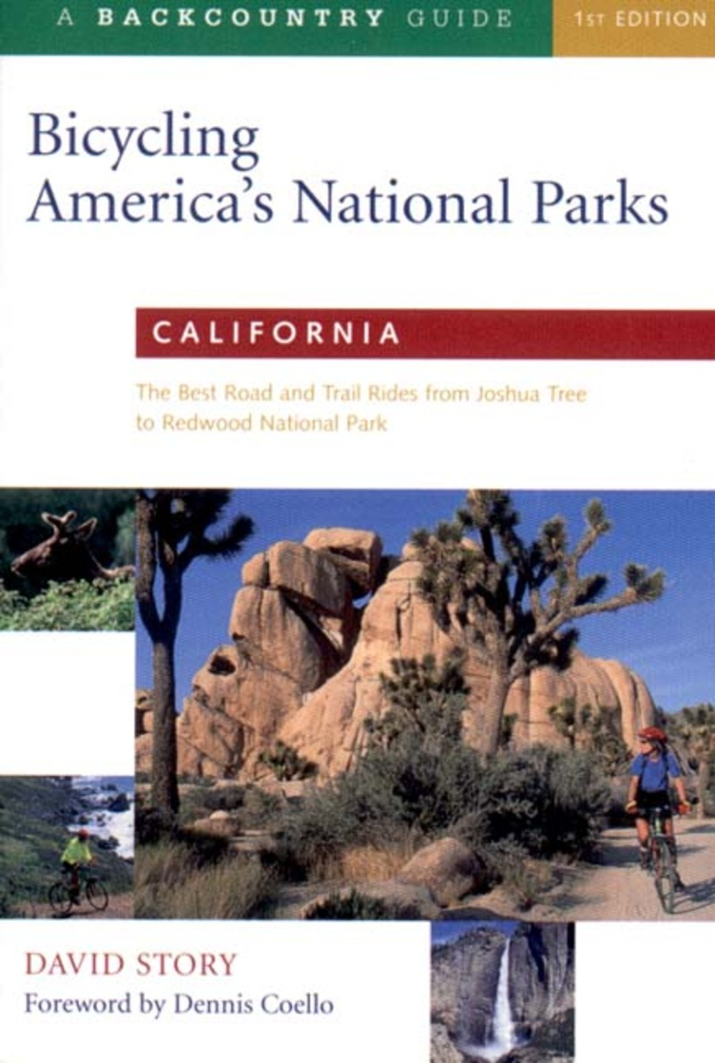 Book cover for Bicycling America's National Parks: California by David Story