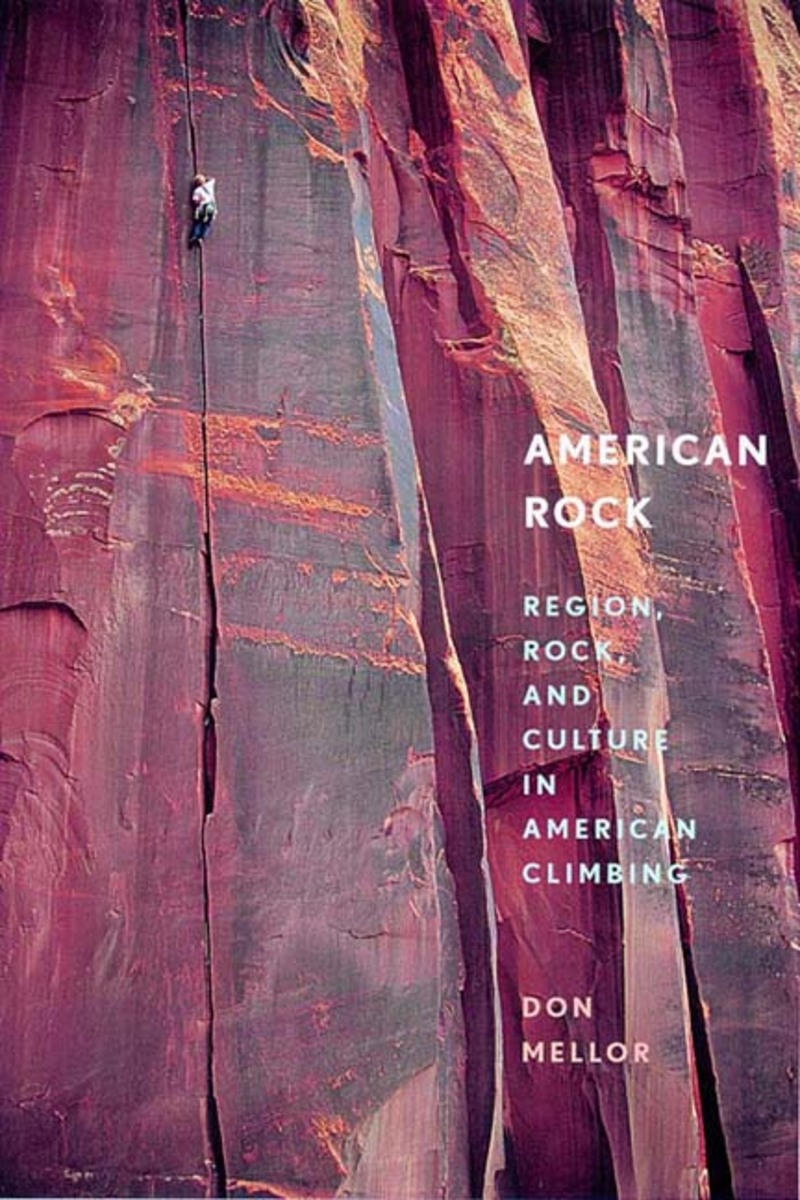 Book cover for American Rock by Don Mellor
