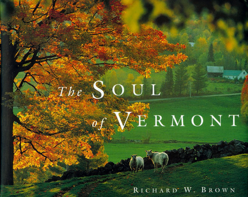 Book cover for The Soul of Vermont by Richard W. Brown