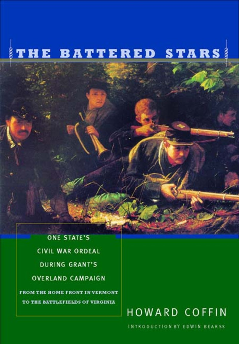 Book cover for The Battered Stars by Howard Coffin