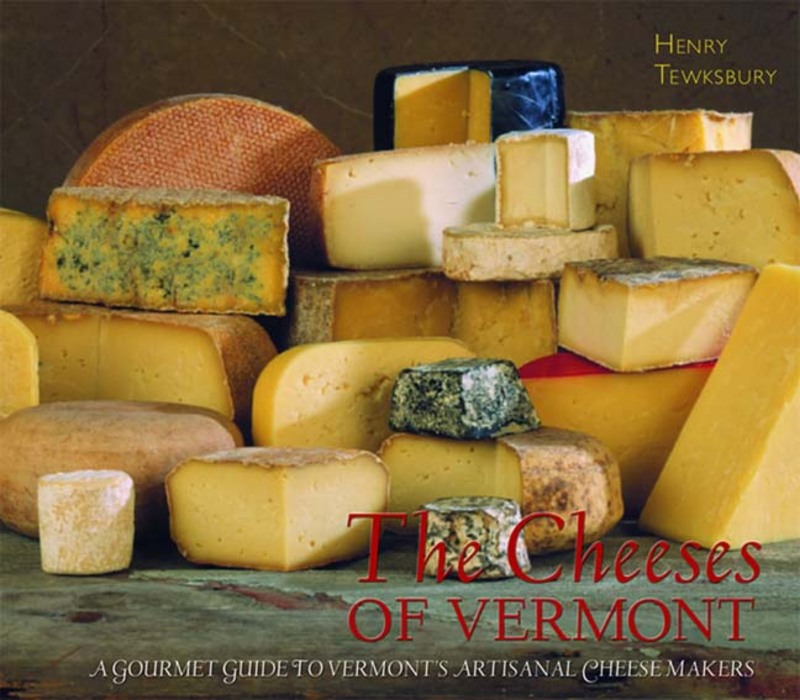 Book cover for The Cheeses of Vermont by Henry Tewksbury