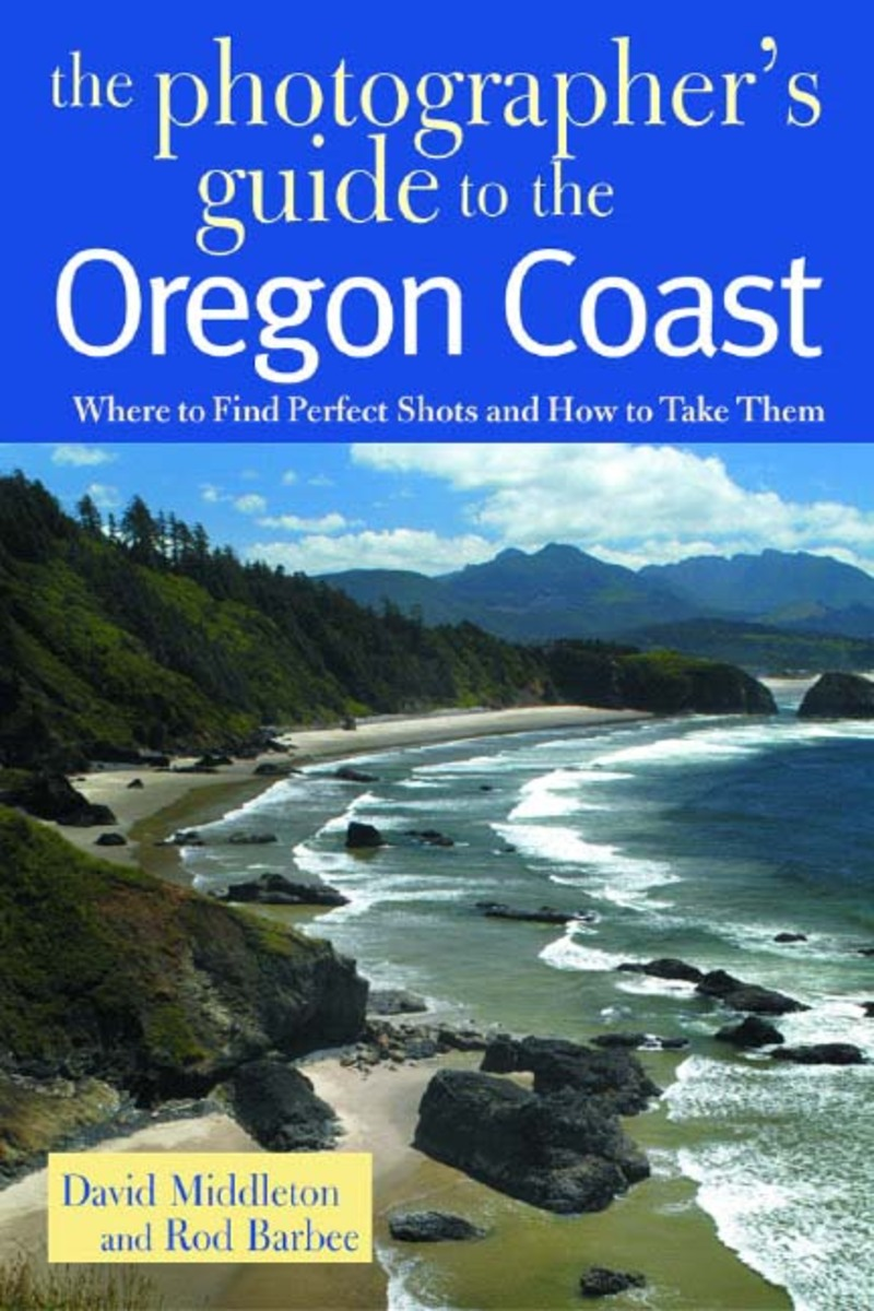 Book cover for The Photographer's Guide to the Oregon Coast by David Middleton