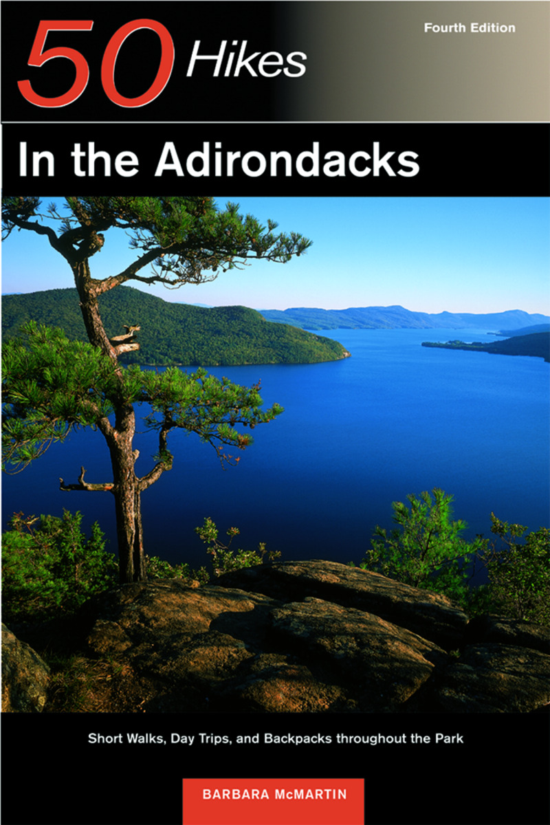 Book cover for Explorer's Guide 50 Hikes in the Adirondacks by Barbara McMartin