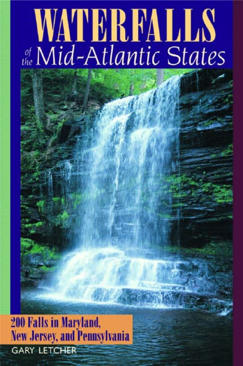 Book cover for Waterfalls of the Mid-Atlantic States by Gary Letcher