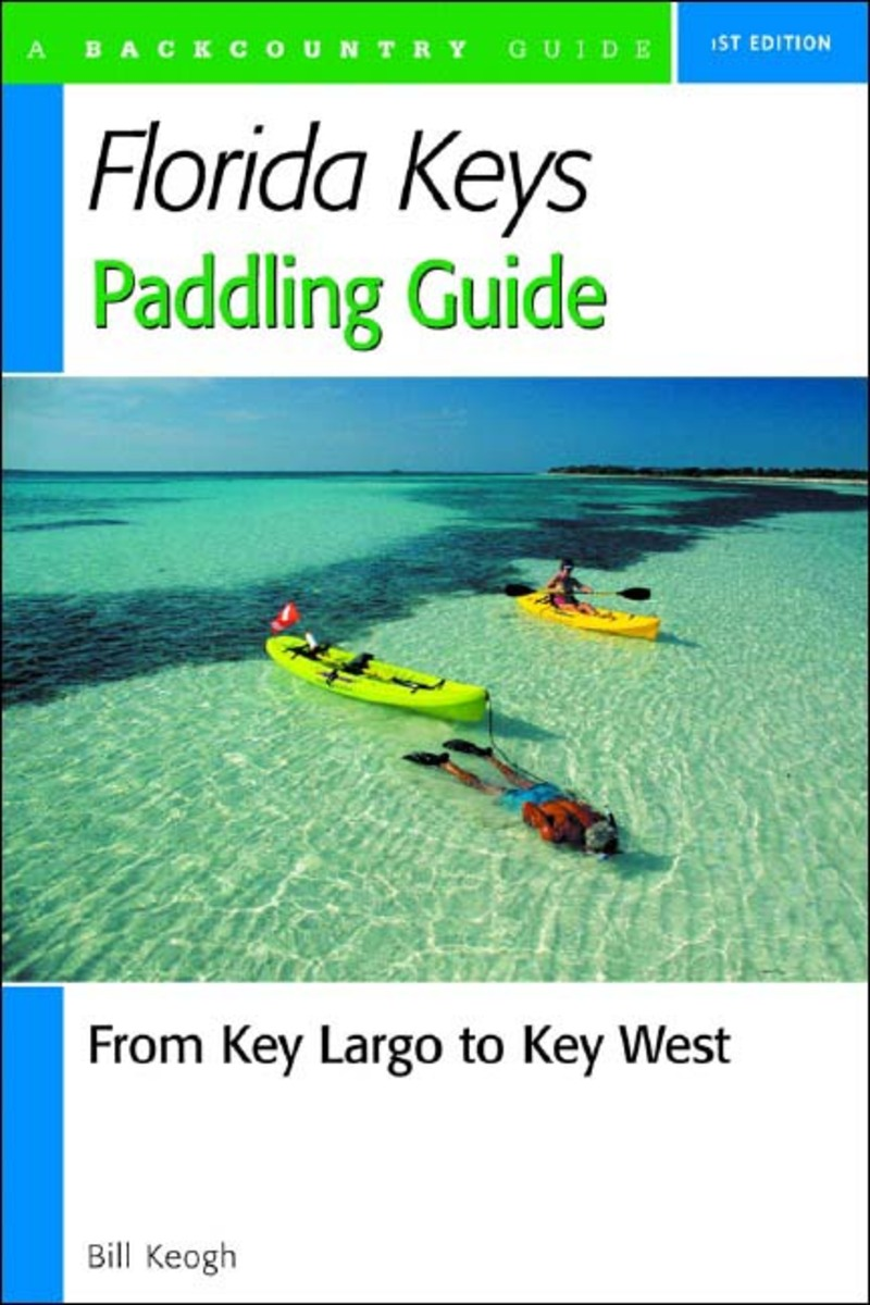 Book cover for Florida Keys Paddling Guide by Bill Keogh