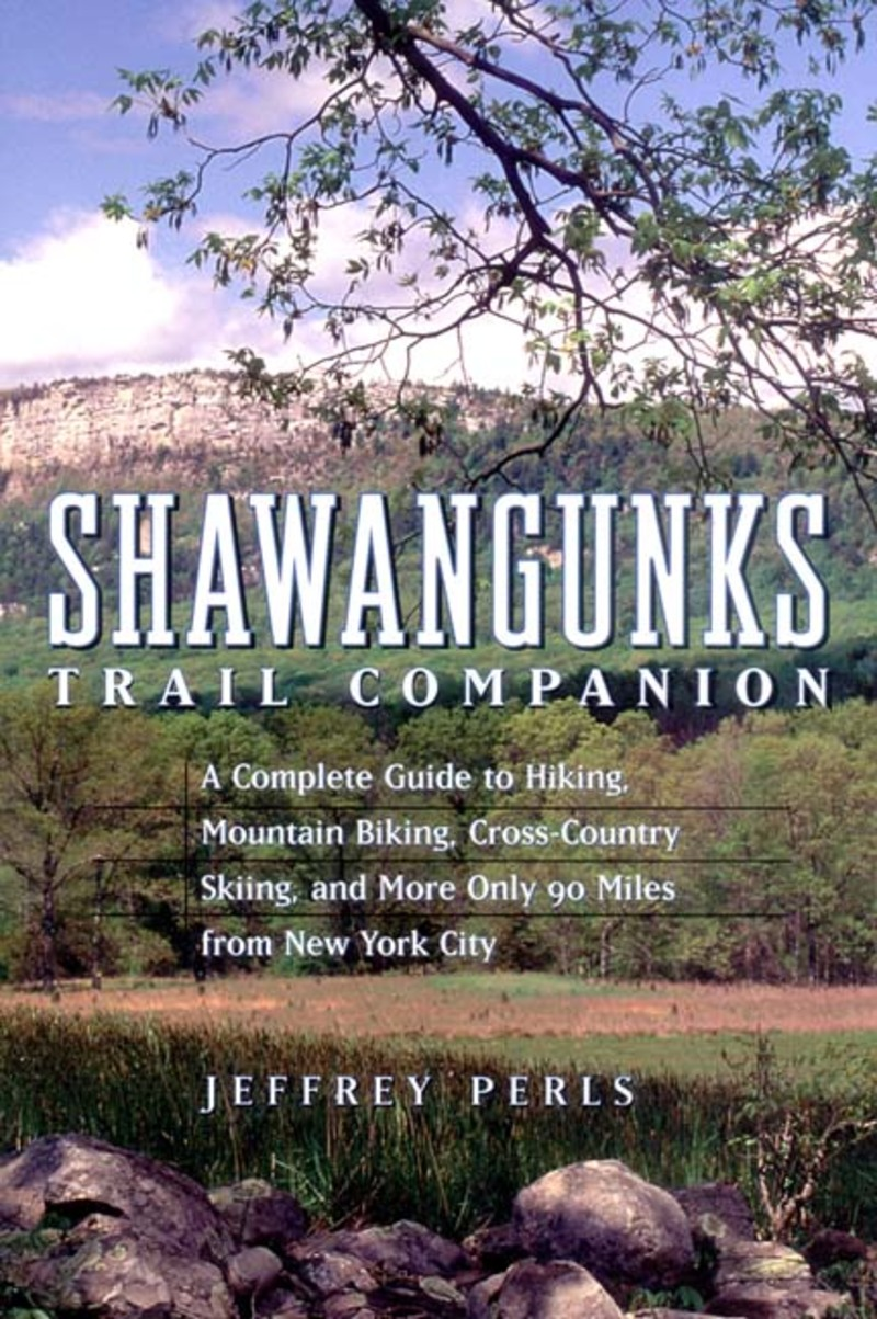 Book cover for Shawangunks Trail Companion by Jeffrey Perls