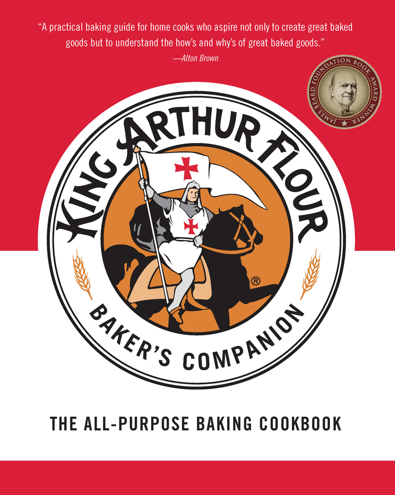 Book cover for The King Arthur Flour Baker's Companion by