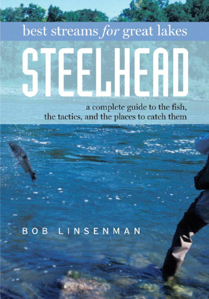 Book cover for Best Streams for Great Lakes Steelhead by Bob Linsenman