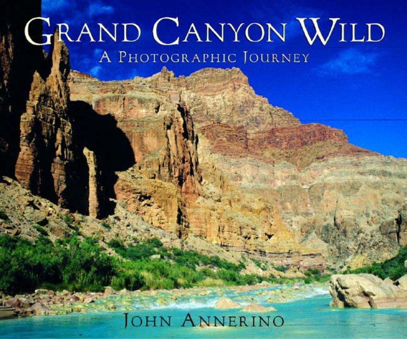 Book cover for Grand Canyon Wild by John Annerino