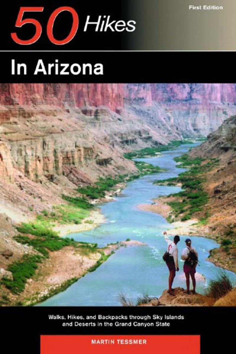 Book cover for Explorer's Guide 50 Hikes in Arizona by Martin Tessmer