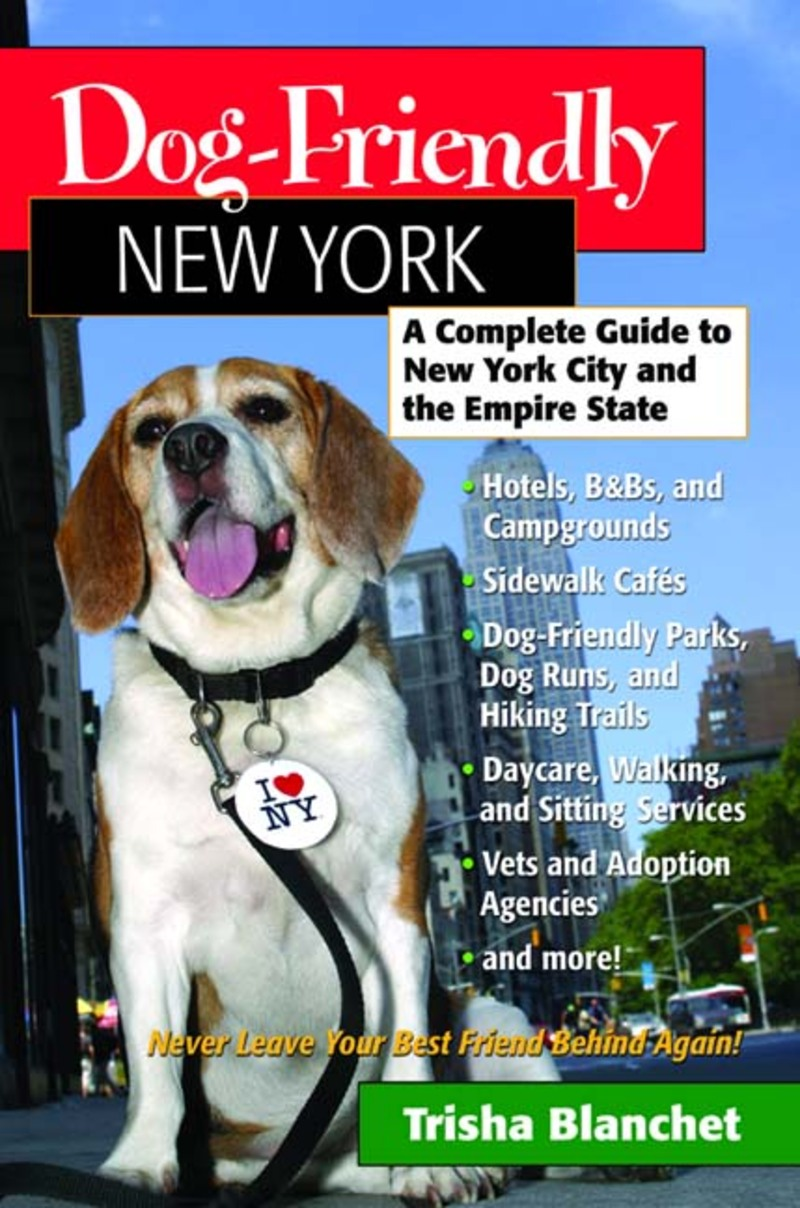 Book cover for Dog-Friendly New York by Trisha Blanchet