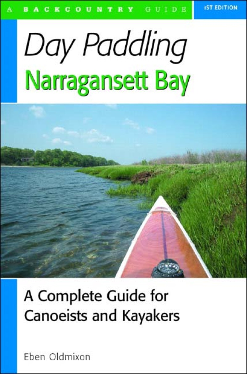 Book cover for Day Paddling Narragansett Bay by Eben Oldmixon