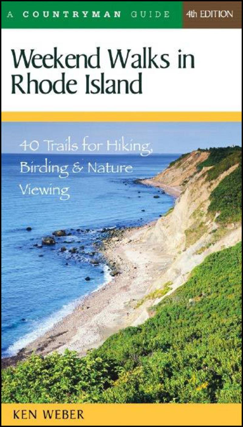 Book cover for Weekend Walks in Rhode Island by Ken Weber