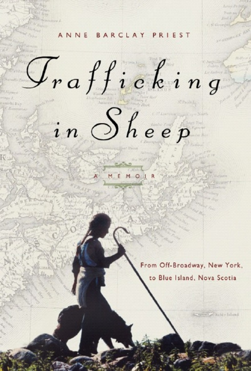 Book cover for Trafficking in Sheep by Anne Barclay Priest