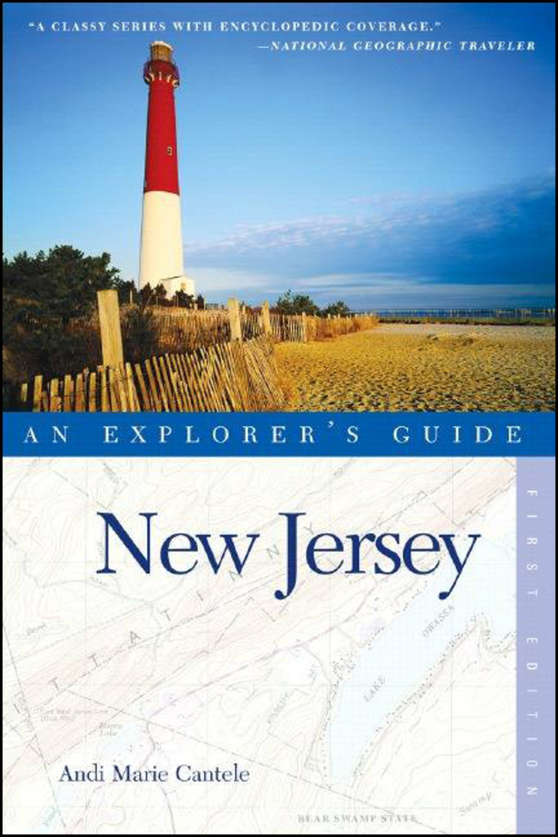 Book cover for Explorer's Guide New Jersey by Andi Marie Cantele