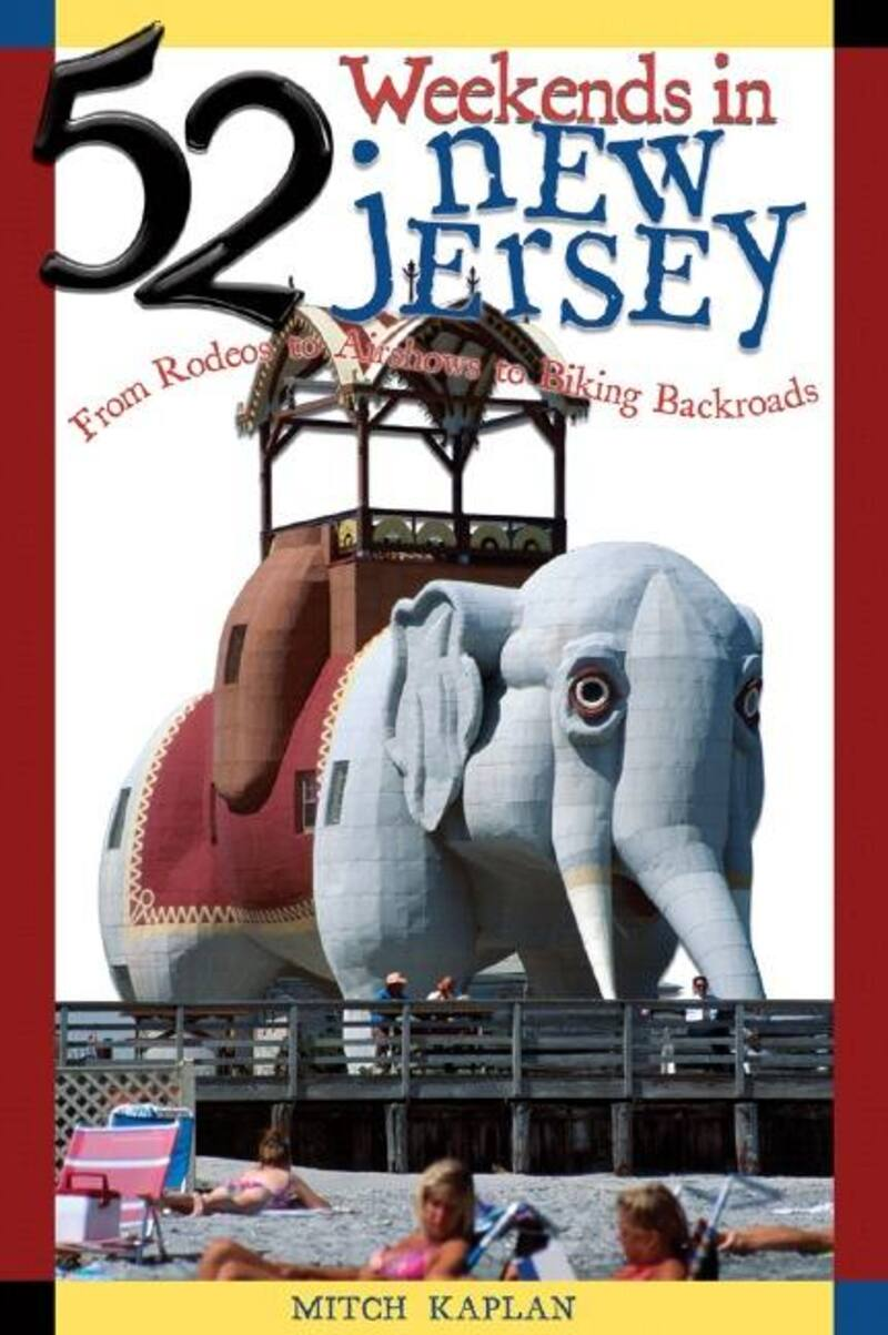 Book cover for 52 Weekends in New Jersey by Mitch Kaplan