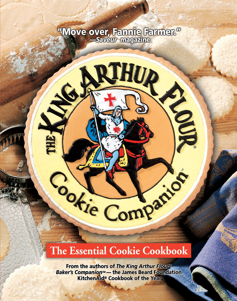 Book cover for The King Arthur Flour Cookie Companion by