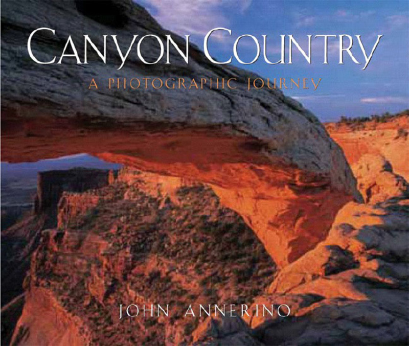 Book cover for Canyon Country by John Annerino