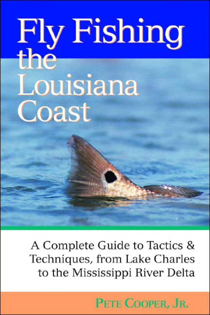 Book cover for Fly Fishing the Louisiana Coast by Pete Cooper