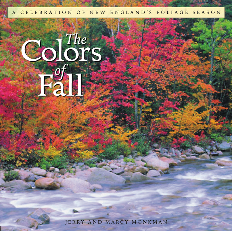 Book cover for The Colors of Fall by Jerry Monkman