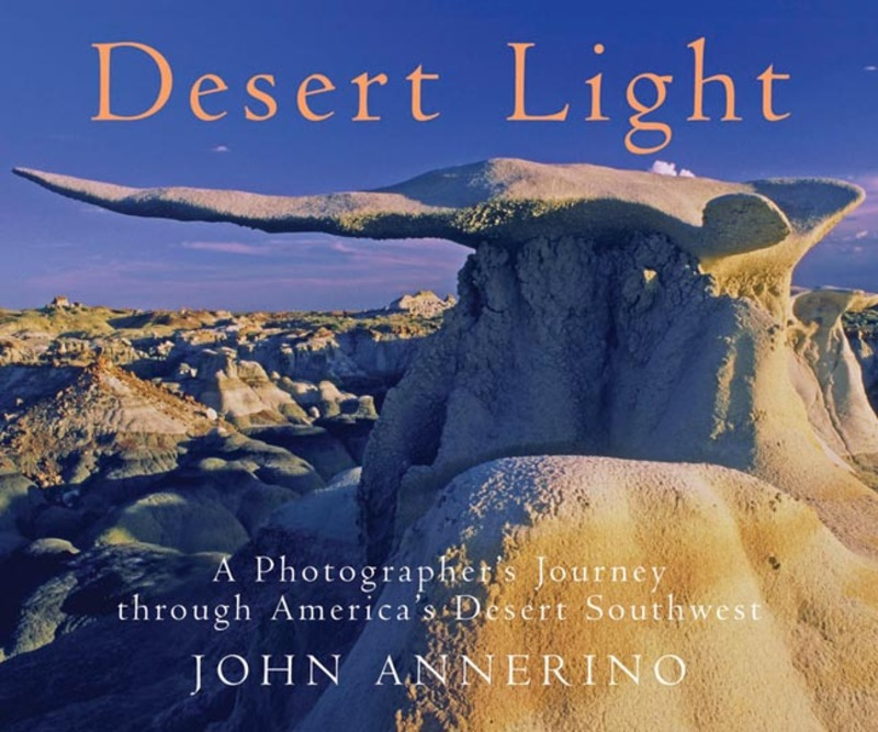 Book cover for Desert Light by John Annerino