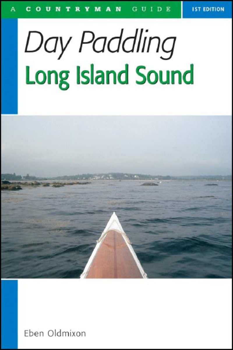 Book cover for Day Paddling Long Island Sound by Eben Oldmixon