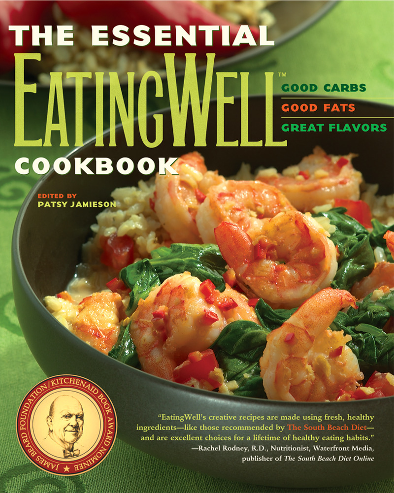 Book cover for The Essential EatingWell Cookbook by Patsy Jamieson