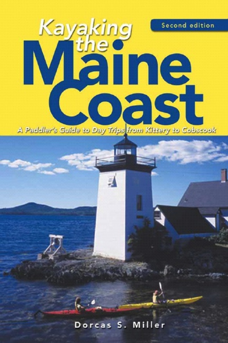 Book cover for Kayaking the Maine Coast by Dorcas S. Miller