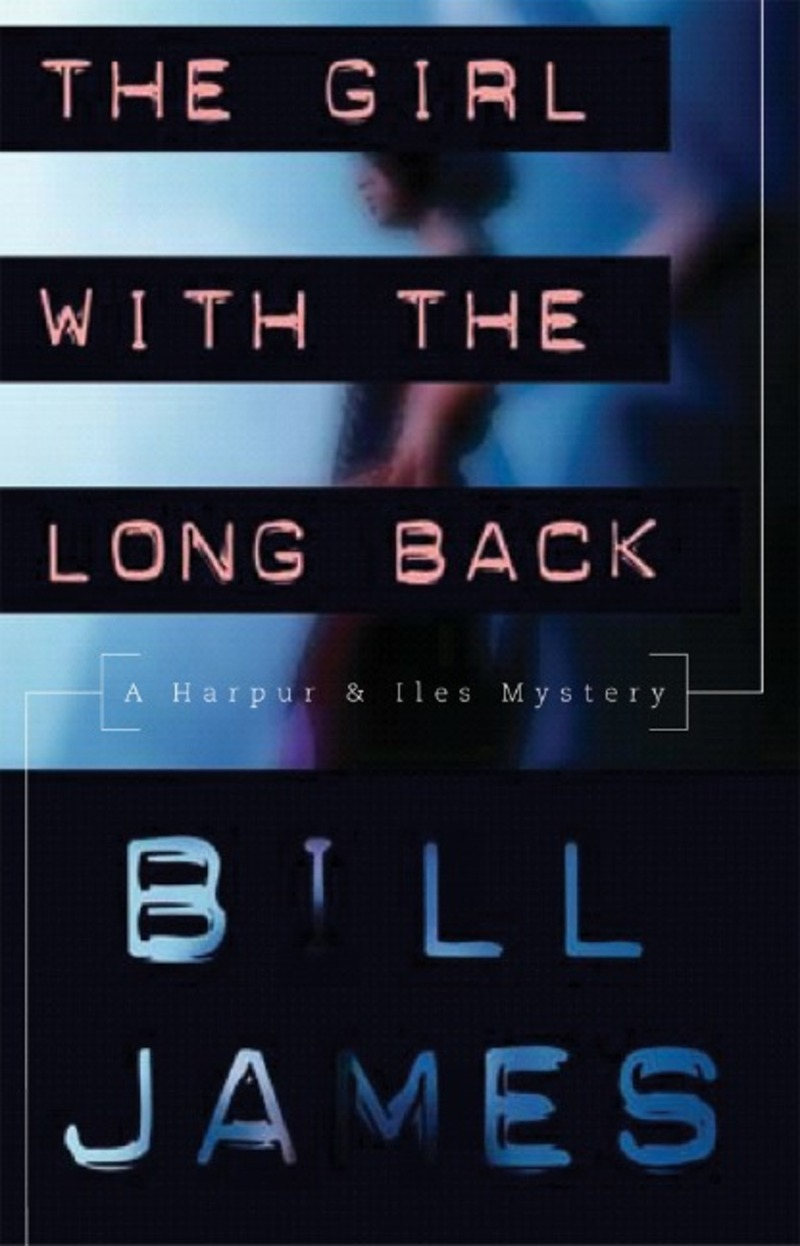 Book cover for The Girl with the Long Back by Bill James