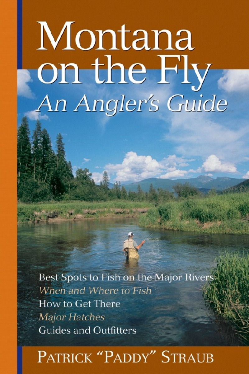 Book cover for Montana on the Fly by Patrick Straub