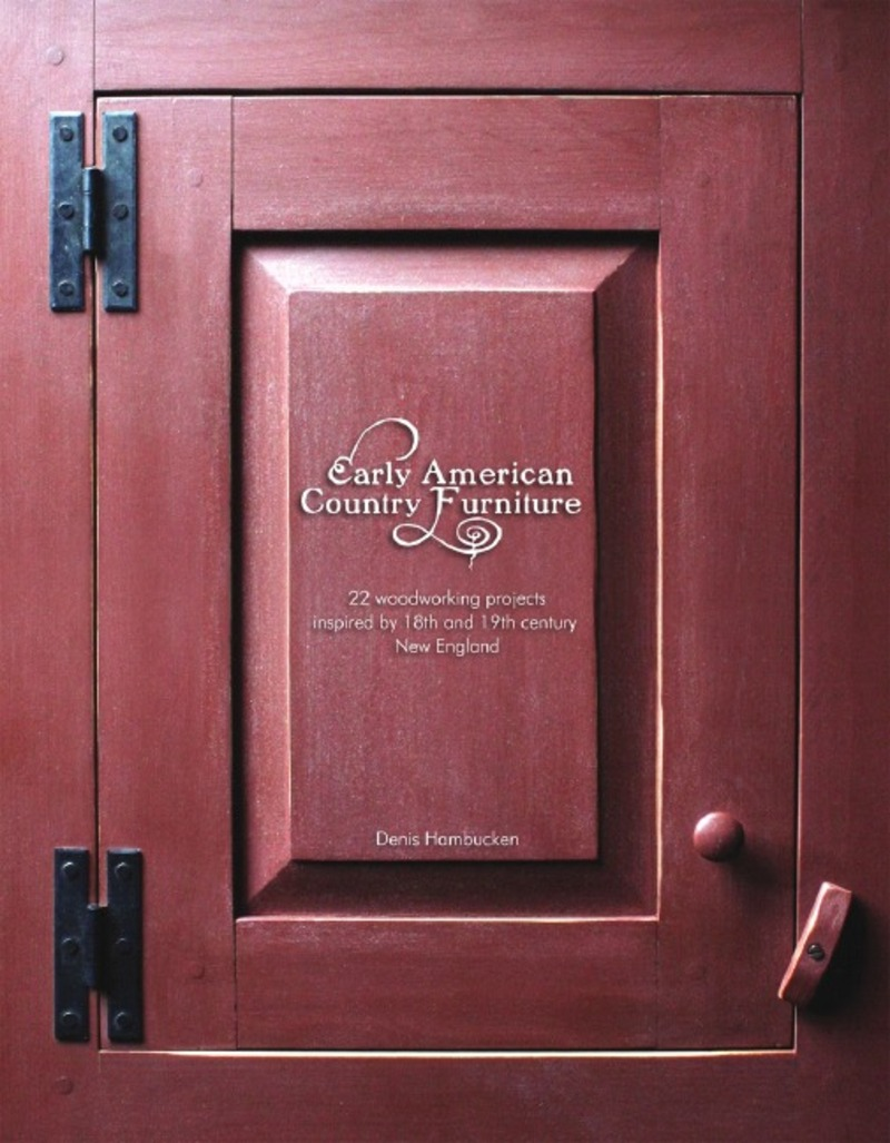Book cover for Early American Country Furniture by Denis Hambucken