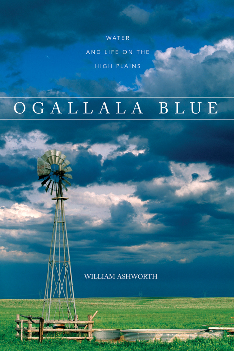 Book cover for Ogallala Blue by William Ashworth