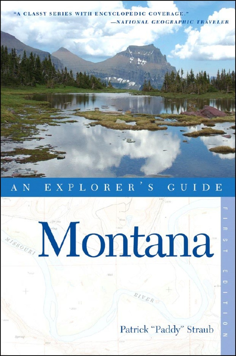 Book cover for Explorer's Guide Montana by Patrick Straub