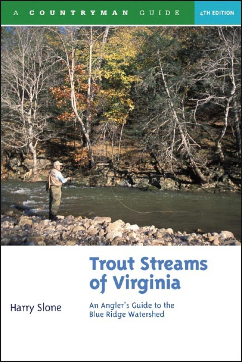 Book cover for Trout Streams of Virginia by Harry Slone