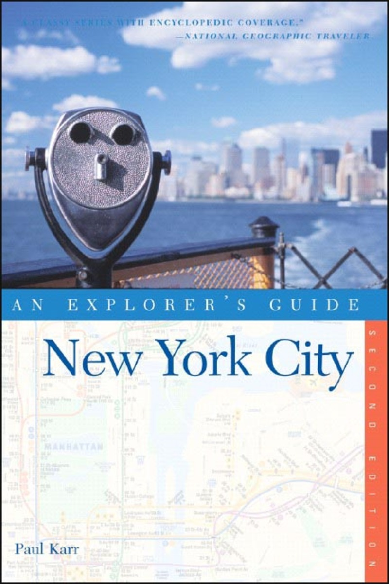 Book cover for Explorer's Guide New York City by Paul Karr