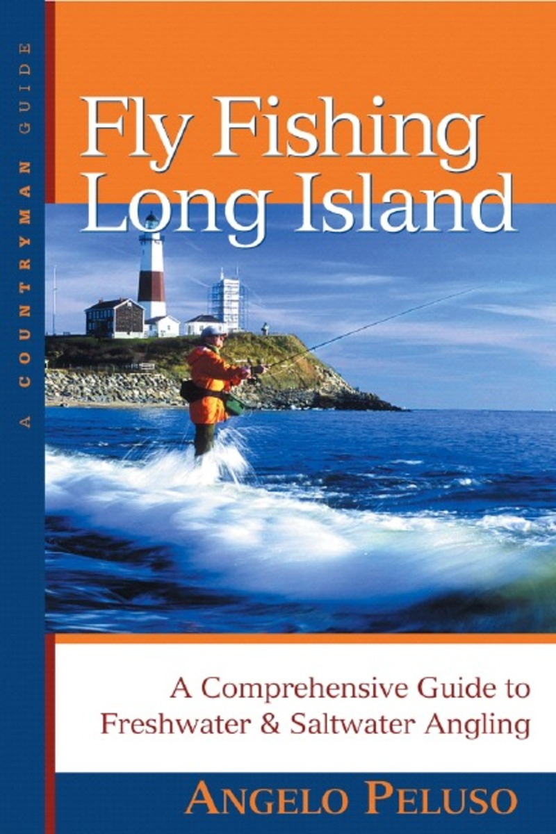 Book cover for Fly Fishing Long Island by Angelo Peluso